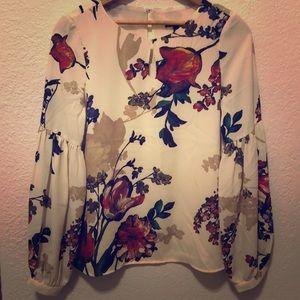 Express dressy blouse